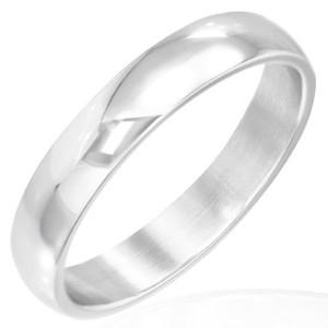 Ocelový prsten - malý lesklý prsten 5 mm