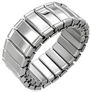 Ocelový prsten - RWS003BA