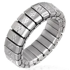 Ocelový prsten - RWS015BA