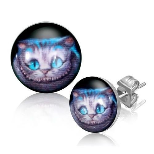 Ocelové náušnice koťata
